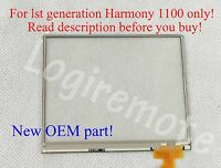 OEM LCD Touchscreen Digitizer for Logitech Harmony 1100 remote 1st Generation $24.99