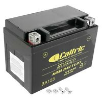 AGM BATTERY Fits SUZUKI LT-Z400F LT-Z400Z QUADSPORT Z400Z 2003-2012