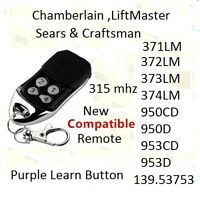 NEW CompatibleW 371LM LiftMaster Sears Chamberlain Remote 373lm 370lm 374lm $10.94