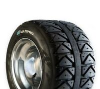 Goldspeed 225/40-10 Rear Flat Track Atv Tire 4 ply Blue Compound All around use