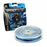 Spiderwire Stealth Braided Fishing Line 300m Spool Braid -BLUE CAMO - 30LB Size