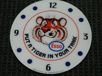 *NEW* 14.25 ESSO TIGER GLASS replacement clock FACE FOR PAM MAN CAVE