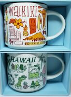 Starbucks Mug Set Hawaii and Waikiki