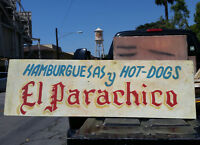 Vintage Advertising Sign for Mexican Restaurant - Americana/Barrio/1970s ?