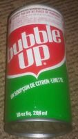 BUBBLE UP Soda pop Can 10oz PULL TAB Toronto Canada VINTAGE ANTIQUE old FRENCH