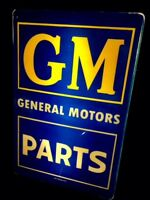 Vintage General Motors Lighted Sign / GM