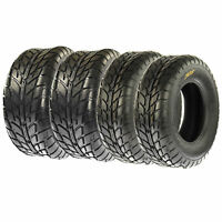 FULL SET of 4 ATV/UTV On Road Pattern Tires (2) 25X8-12 & (2) 25X10x12 6PR/021
