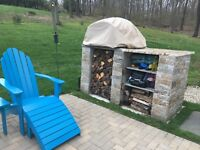 Wood fired pizza oven - all weather Cover - Tan