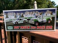 2011 Hess Toy Truck and Race Car NEW In Original Box