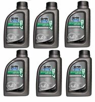 6 Bottles Bel-Ray SI-7 Synthetic 2-Stroke Oil 1 Liter BelRay Motorcycle ATV