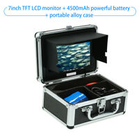 Fish Finder Underwater Camera Portable Alloy Case With 7'' LCD Video U9E3