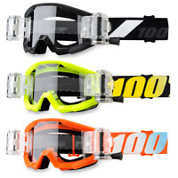 100% Strata Mud Youth Kids Clear Lens Offroad Motocross ATV Goggles