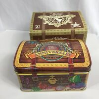 Wolfgang Candy 75th Anniversary Treasure Chest Metal Tin With Original Box