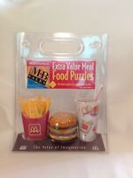VERY RARE, BRAND NEW McDonalds Extra Value Meal Food Puzzle