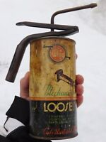 VINTAGE RARE CANADIAN WHIZ OIL TIN 16oz CAN ANTIQUE OILER HOLLINGSWORTH PUMP TOP