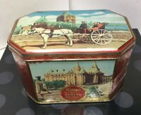 Vintage RILEY'S Variety Toffee Empty Metal Tin Made In England Storage Box