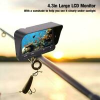 4.3inch Fish Finder Underwater LCD Fishing Camera HD Monitor Video Fishing Kit