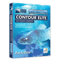 Lakemaster LPMICES1 Contour Elite Mapping Software Michigan
