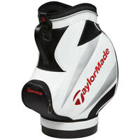 TaylorMade Golf Den Caddy,  White/Black/Red