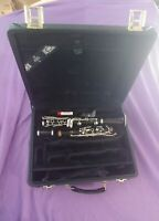 Buffet R13 A Clarinet w/ Nickel Plated Keys & Double Case Serial number 700550