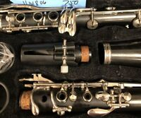 Buffet E 11 Germany wood clarinet Preowned Plays Well Buffet Fitted Case