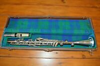VINTAGE SUPERIOR SILVER CLARINET IN HARD CASE