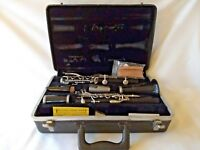 Bundy Clarinet and hard case