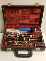 Vintage Buffet Crampon Paris LP Clarinet Made In France Carl Fischer New York NY