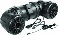 BOSS AUDIO ATV85B Off-Road Amplified Tube Speaker System w/Bluetooth 8