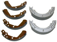 Front & Rear Brake Shoes 1991-2001 Suzuki King Quad 300 4x4 LT-F4WDX & LT-F300F