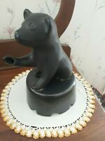 PIGEON FORGE POTTERY-BLACK BEAR FOUNTAIN