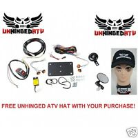 Tusk ATV Horn & Signal Kit with Recessed Signals - RUBICON 500 GPS 4x4 2004-2009