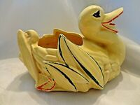 PRICE REDUCED! McCoy 1952 Yellow Duck Planter 8