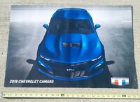 2019 CHEVY CHEVROLET CAMERO POSTER 12 model history dealer PROMO 2 SIDED 26x18