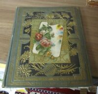 Victorian 280+ Trade Card Die Cut Album Cats Dogs Tulip Soap Black Americana
