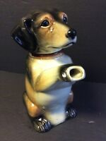China Daschund Figural Dog Tea Pot Made in Western Germany