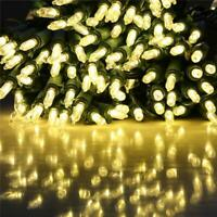 Christmas Tree String Lights Warm White LED Outdoor Indoor Party Decoration