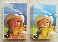 1951 MINT COCA-COLA PLAYING CARDS DECK COWGIRL!