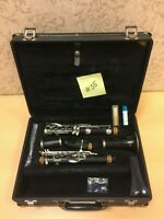 Vintage Noblet PARIS  France CLARINET IN HARD CASE Comes With Stand Wooden 1968