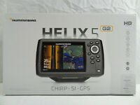 Humminbird 410230-1 Helix 5 CHIRP SI GPS G2 (New Opened Box. Missing Transducer)