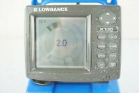 Lowrance X135 Fish Finder Ice FIshing Combo W/ Ice Transducer Battery and Case