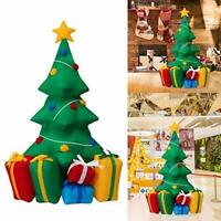 Kinbor 5' Inflatable Christmas Tree Yard Decoration Air Blown Outdoor Indoor