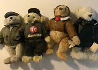 Lot Of 4 Texaco Service Bears So Cute!