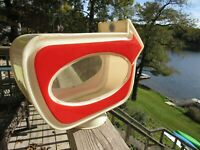 VINTAGE ORIGINAL 1950's GAS PUMP GLOBE PRICE ARROW SIGN CHANGEABLE PRICES LOOK