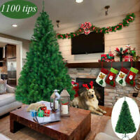 7Ft Artificial PVC Christmas Tree W/Stand Holiday Season Indoor Outdoor Green US
