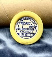 Vintage Old New Stock Roll of Hopson Dairy Anderson Bottle Caps