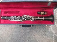 BUNDY Eb CLARINET WITH HS* MOUTHPIECE  - OLD PADS BUT IT PLAYS   The Band Guy