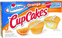 Hostess Cupcakes Orange Frosted Snack Cakes 6 Pack or 12 Pack