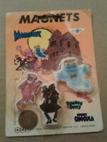 General Mills Cereal Vintage Magnets Boo Berry Franken Berry Count Chocula NIP