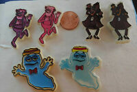 General Mills Cereal Vintage Magnets Boo Berry Franken Berry Count Chocula